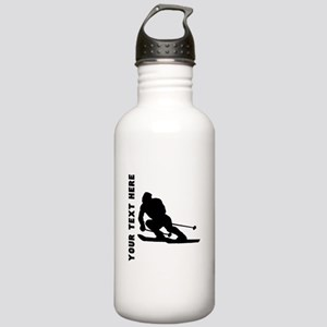 Skier (Custom) Water Bottle